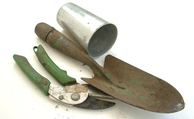 mini outils de jardin